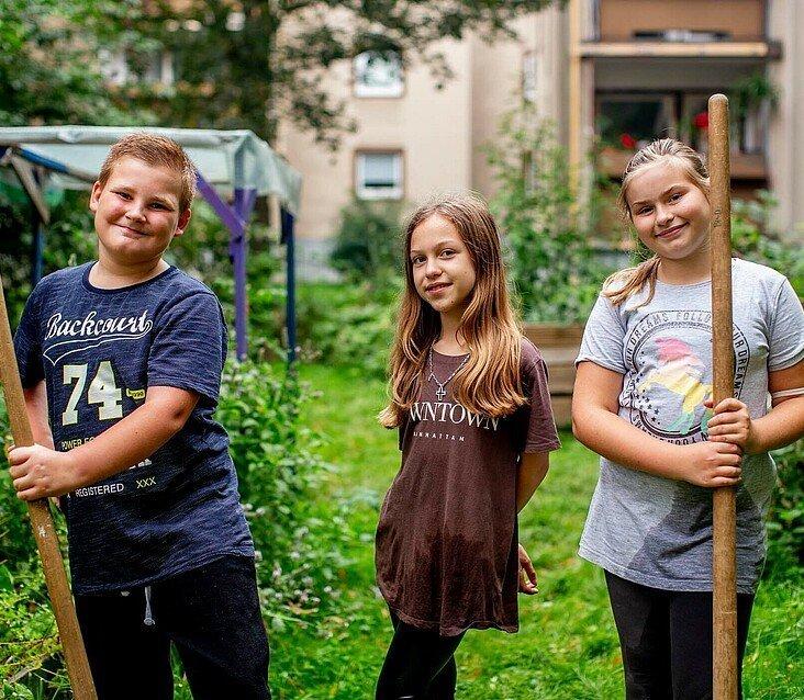 Kinder im GartenClub in Bilderstöckchen