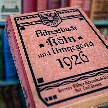 Kölner Adressbücher aus den 1960er Jahren