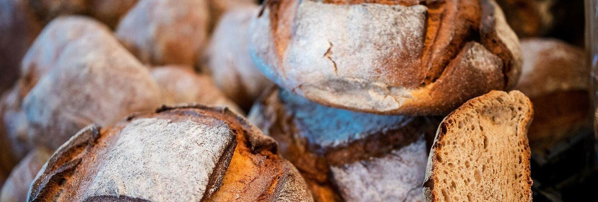 Auch Brot und andere Backwaren werden beim Foodsharing gerettet