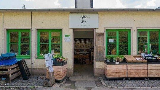 Kölner Biobauer in Humboldt/Gremberg von außen