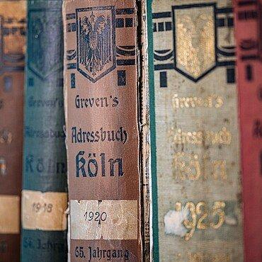 Kölner Adressbücher aus den 1920er Jahren