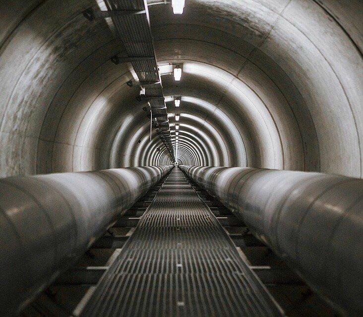 Fernwärmetunnel RheinEnergie in Köln