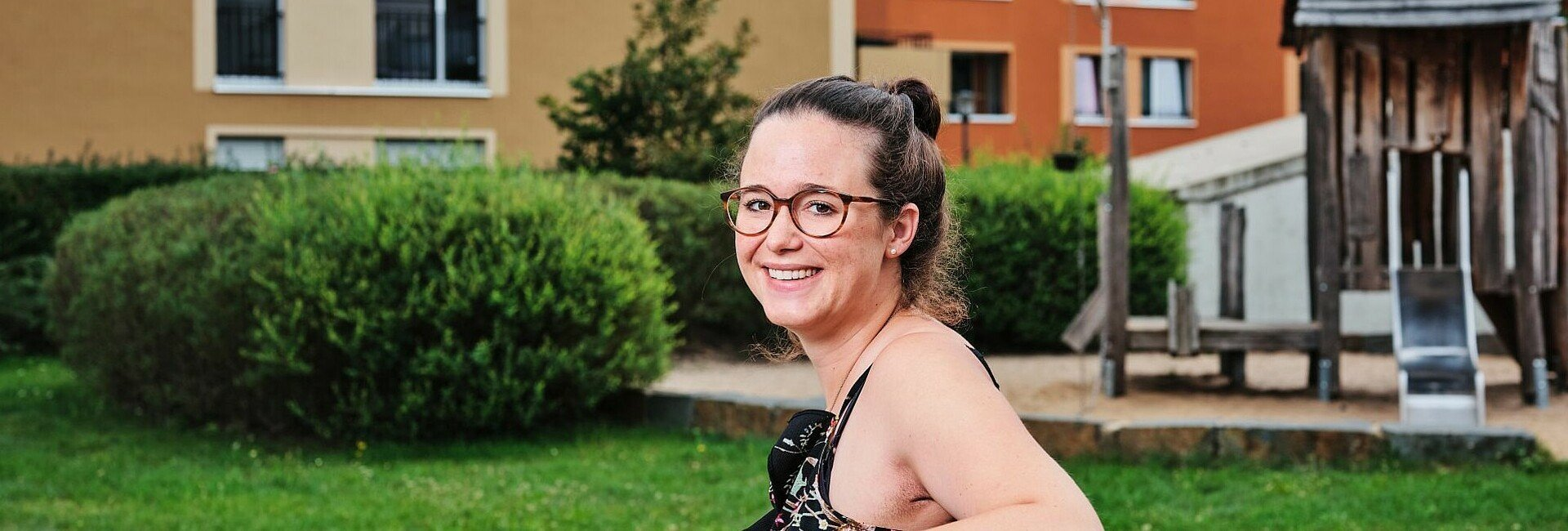 Friederike Zoubaa erzählt von ihrem Leben in Köln