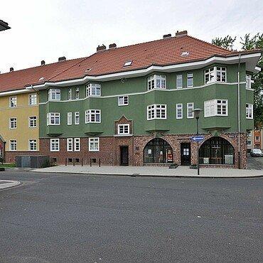 : In der Weimarer Straße befindet sich die Museumswohnung der Germaniasiedlung in Höhenberg