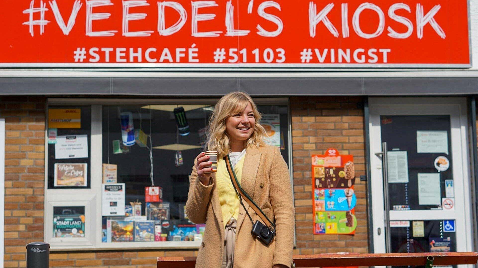 """Der """"Veedel's Kiosk"""" in Vingst ist ein beliebter Treffpunkt im Stadtteil"""