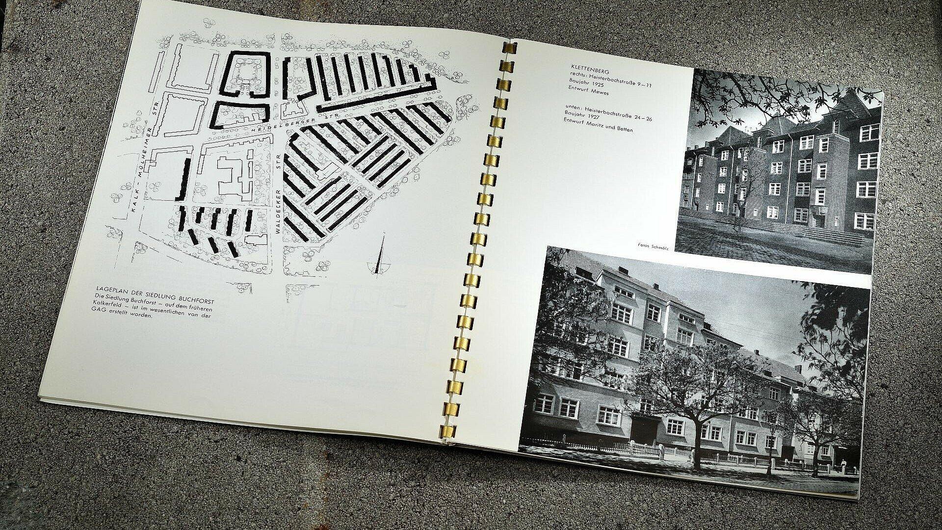 GAG-Broschüre zeigt historische Siedlungen in Köln