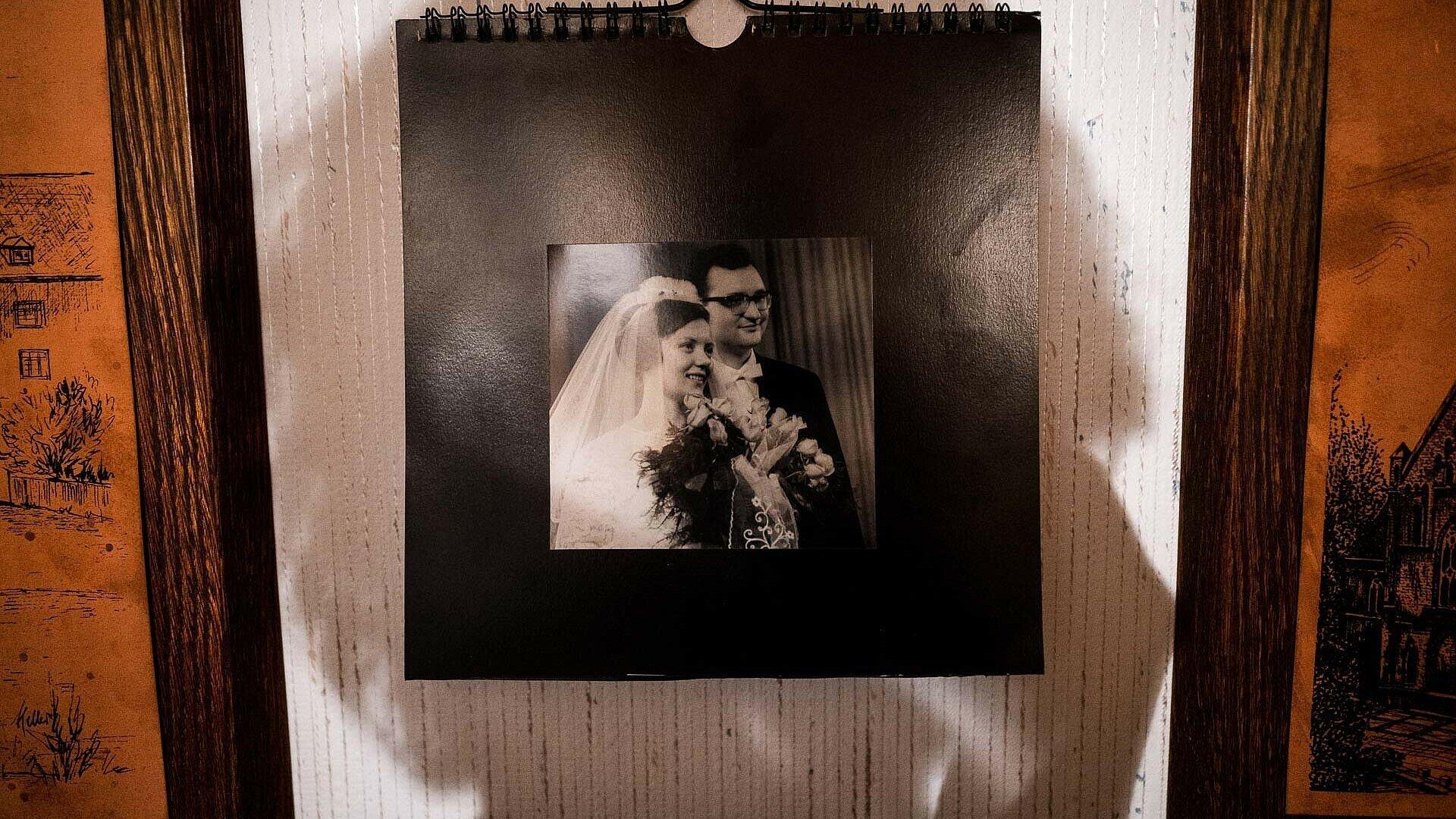 Hochzeitsfoto von Konrad und Maria Neubert