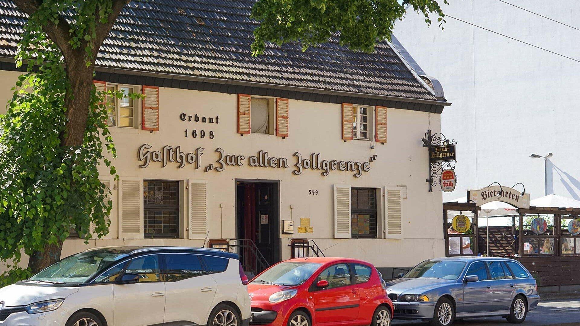 Historischer Gasthof Zur alten Zollgrenze in Weidenpesch