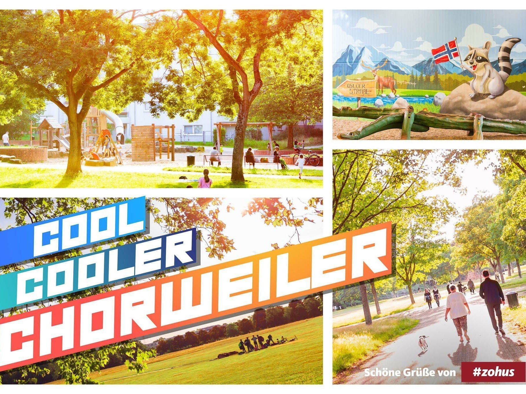 Veedels-Postkarte Chorweiler