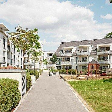 Aktuelles Foto der Nibelungensiedlung in Mauenheim