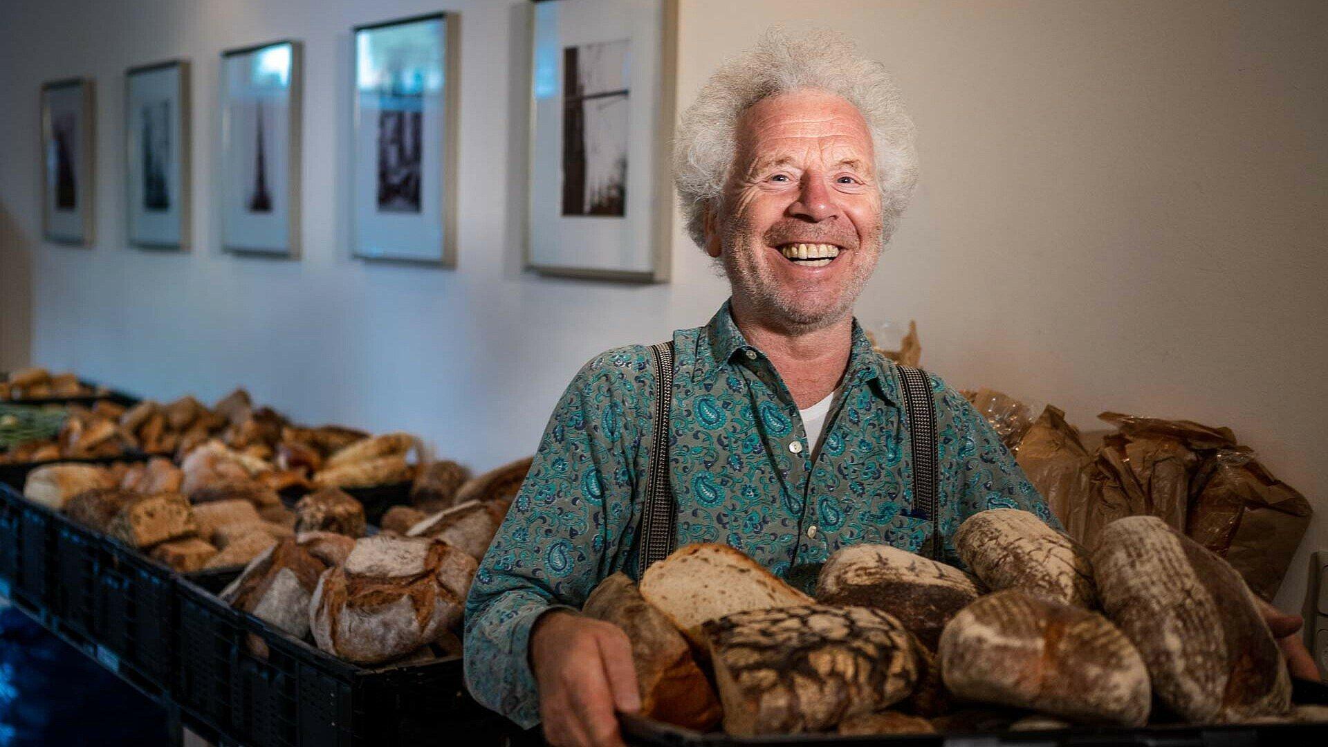 Christian Horsters rettet als Foodsaver Backwaren in Köln
