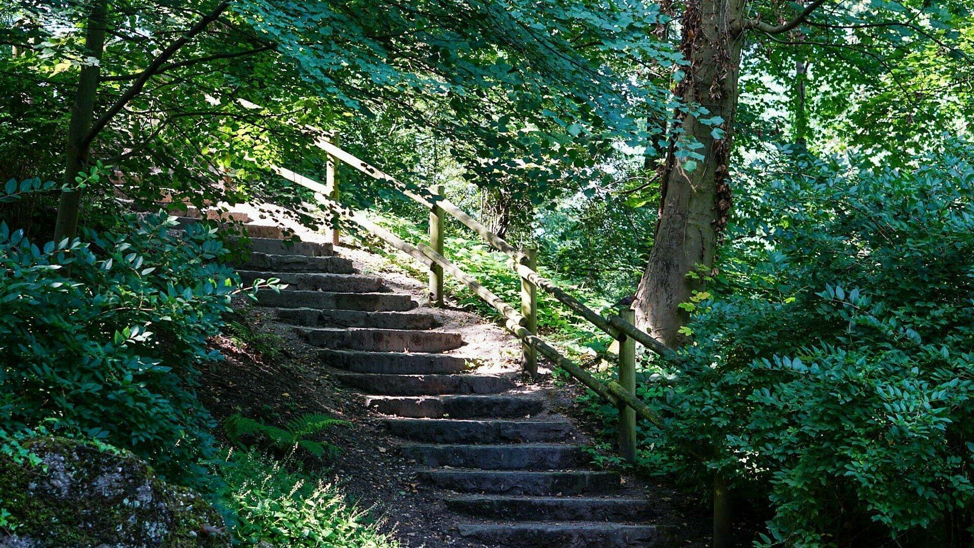 Der Felsengarten in Lindenthal