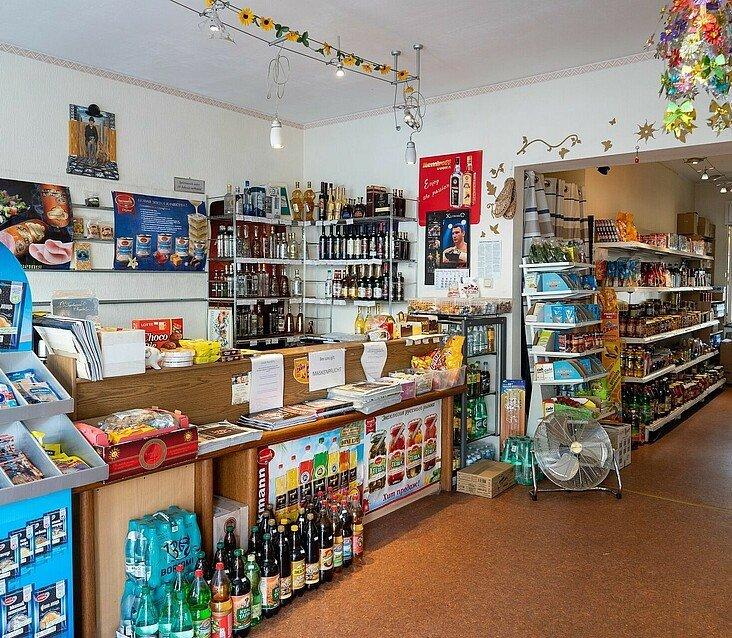 Kleiner russischer Supermarkt Zabawa in Köln Buchheim