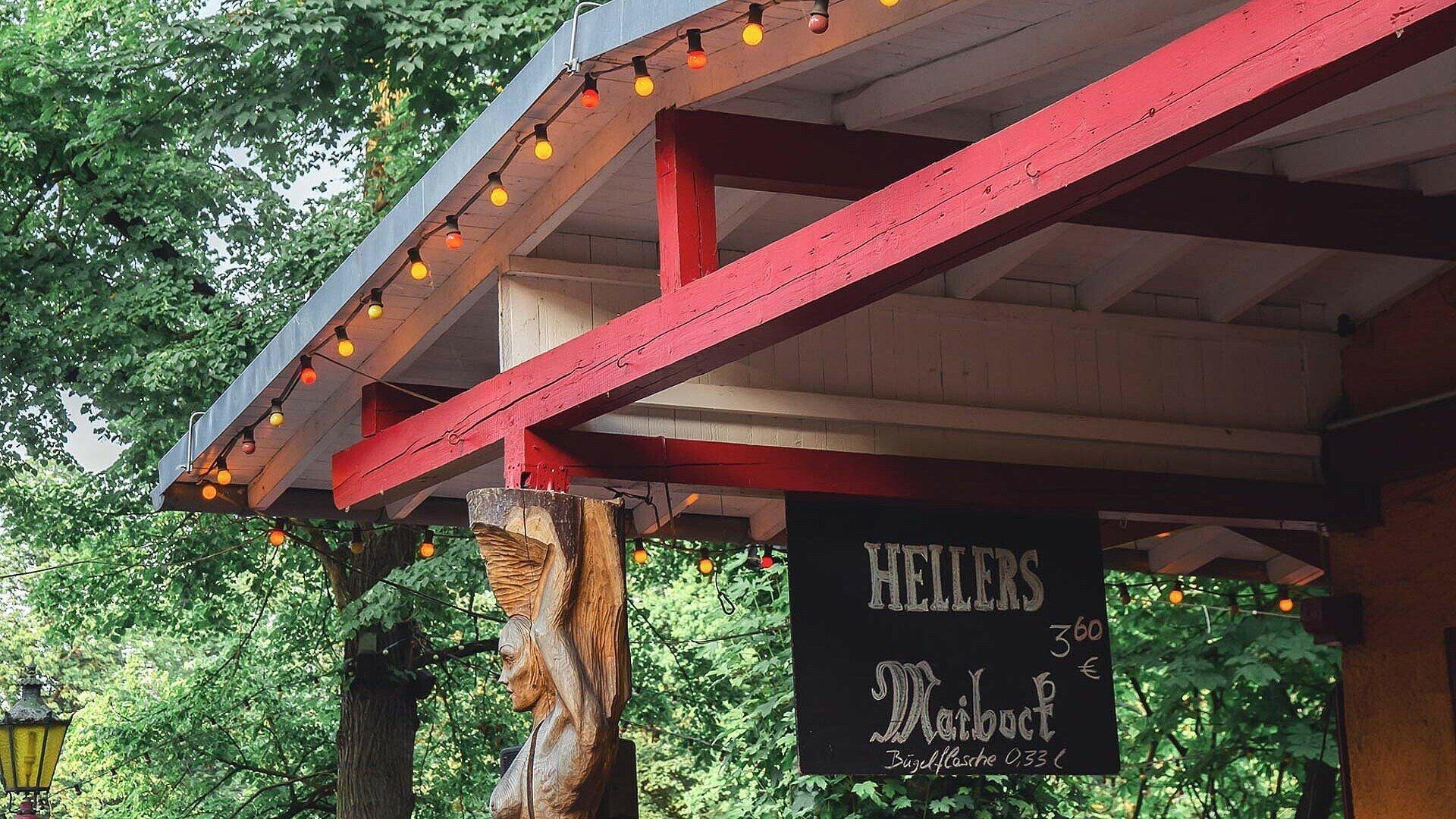 Hellers Volksgarten in Köln