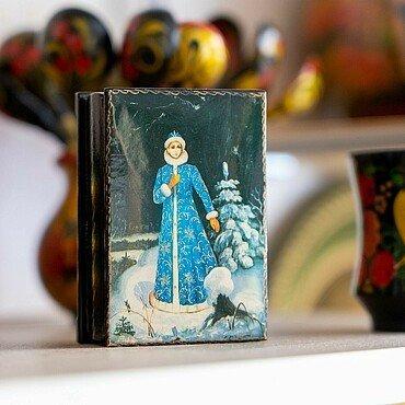 Holzdose im russischen Supermarkt Zabawa in Buchheim