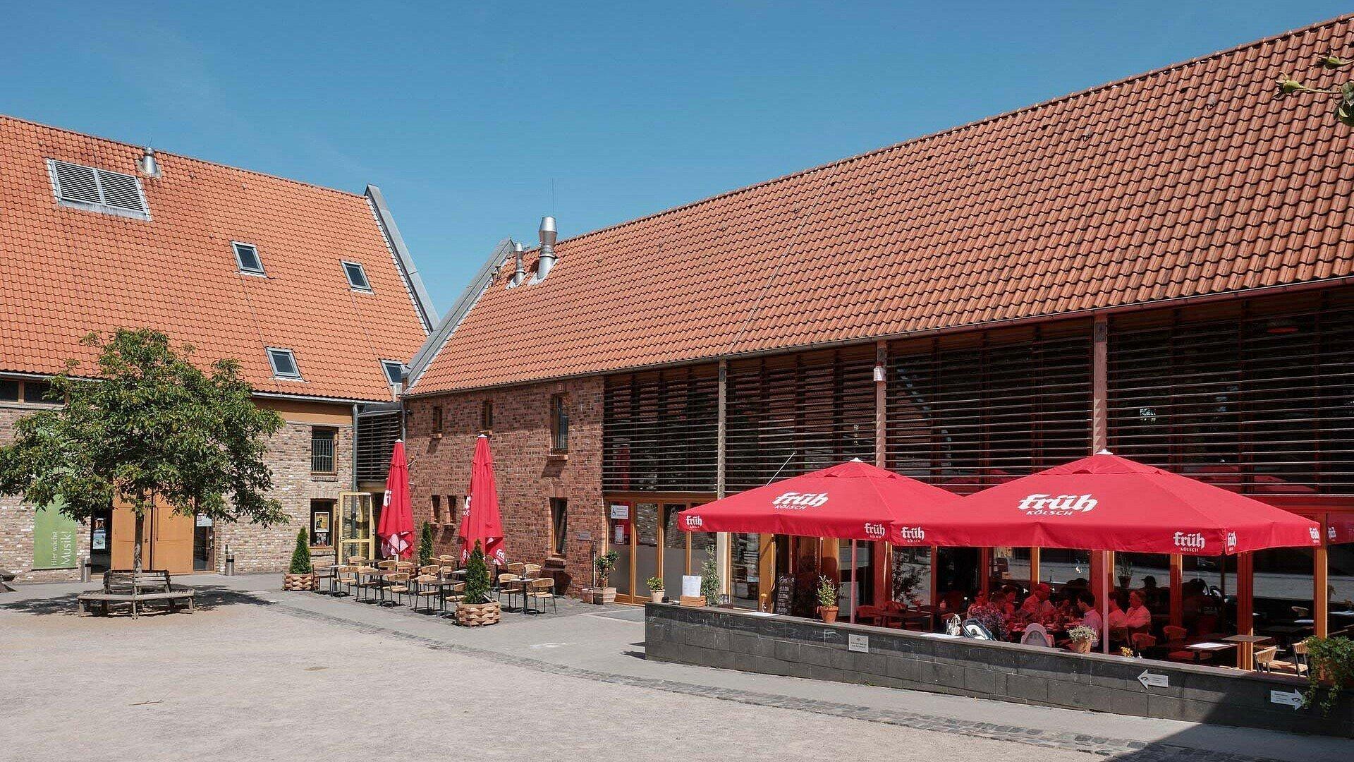 Biergarten Potpourri im Altenberger Hof in Nippes