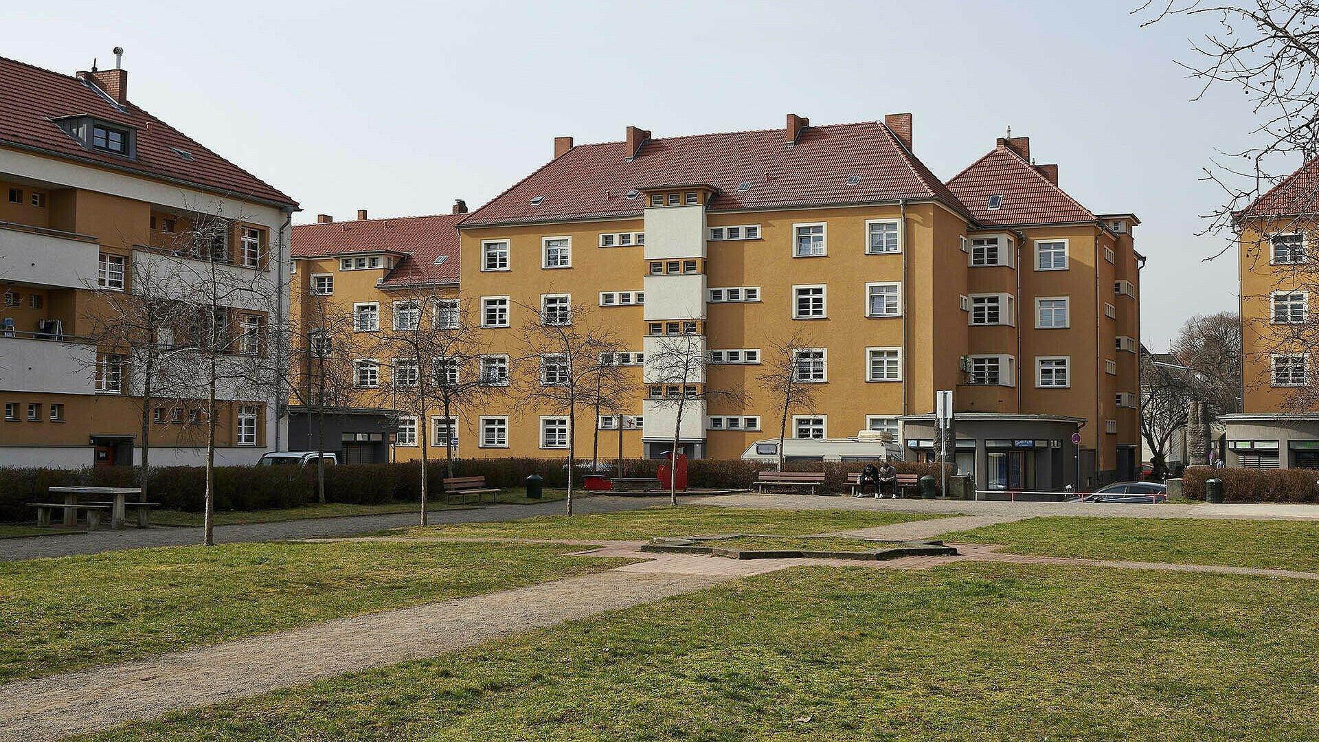 """Platz """"Am Rosenhof"""" in der heutigen Platz"""
