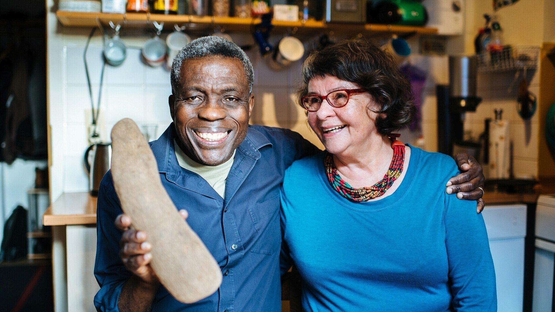 William Nketia erzählt von seinem Leben in Köln