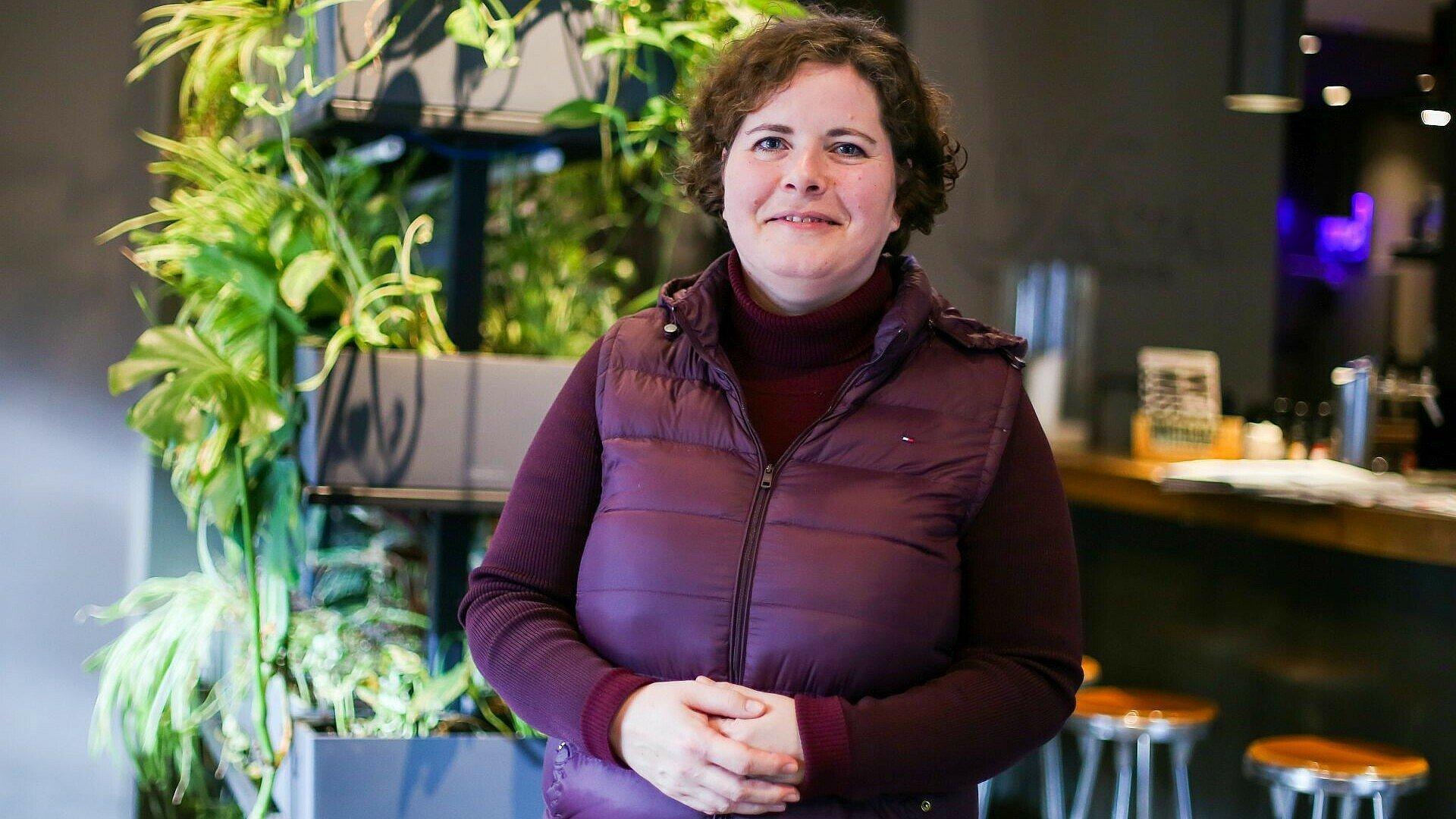 Olivera Wahl beim Good Lunch mit Zero Waste Köln e.V.